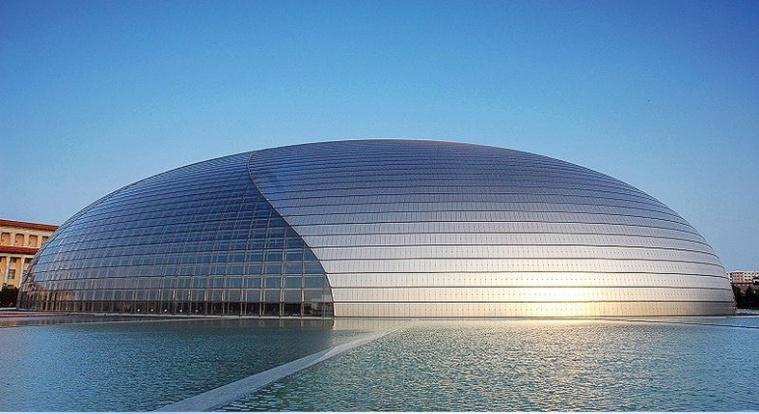 国家大剧院景观水工程