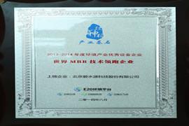 世界MBR技术领跑企业