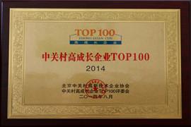 中关村高成长企业TOP100