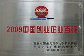 2009中国创业企业百强