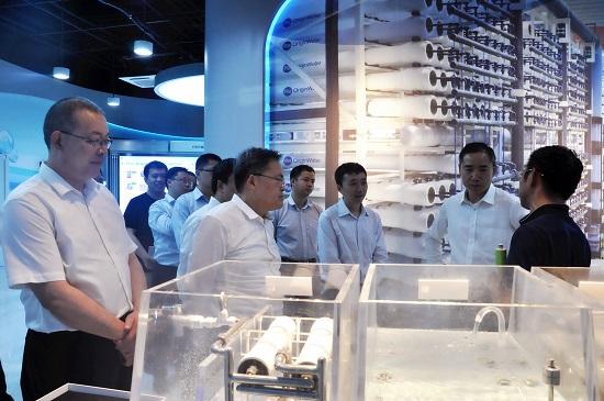 工业和信息化部副部长辛国斌赴北京市调研绿色制造