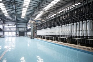 ca88助力全球最大百万吨级再生水厂 缓解北京水资源紧缺难题