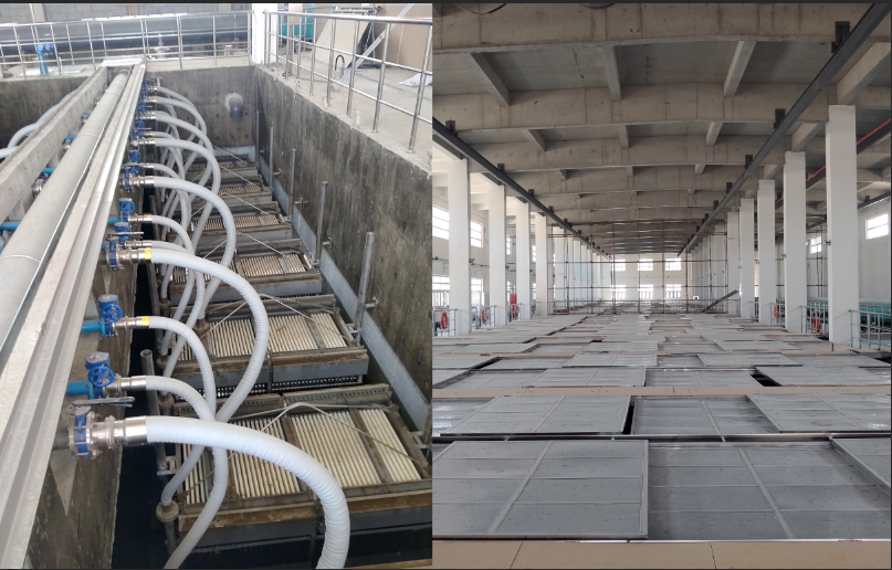 中国水网:青岛李村河污水厂四期MBR膜系统稳定达标产水
